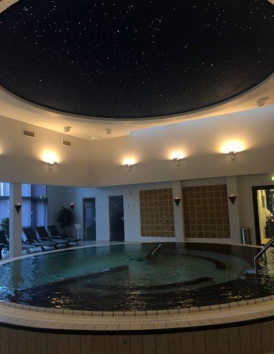 Vi anbefaler, at du starter i massagebadet, når du besøger kurbadet.